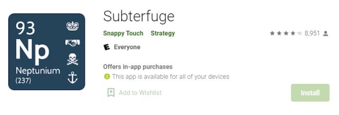 Subterfuge for Mac