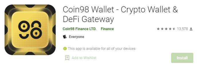 Coin98 Wallet for Mac