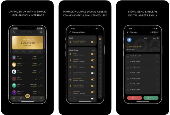 Coin98 Wallet app PC download