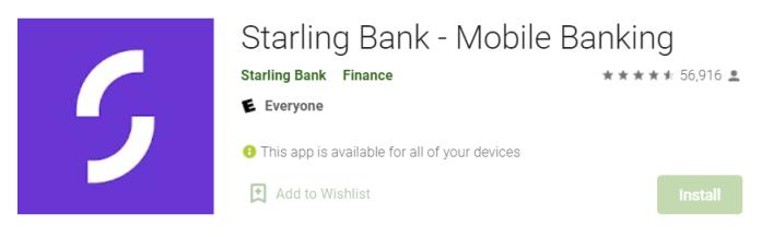 Starling Bank for Mac