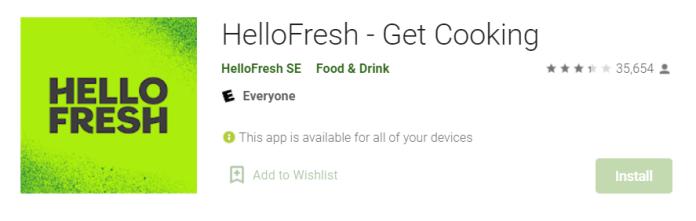 HelloFresh for Mac
