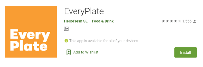 EveryPlate for Mac