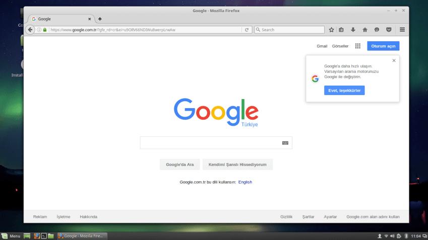 Firefox in Linux Mint 18