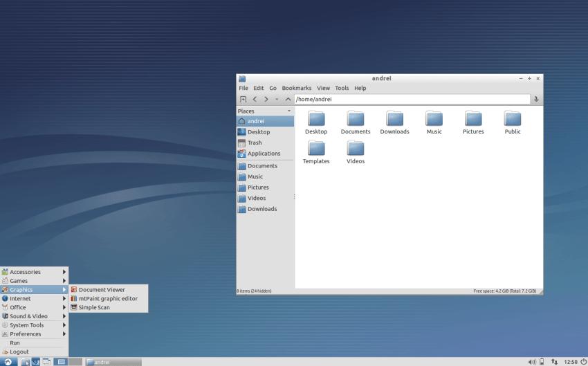 Lubuntu Desktop with LXDE