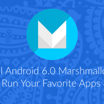 128 Android 6.0 Marshmallow on Linux