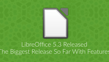 LibreOffice 5.3 Released: The Biggest Release So Far 1