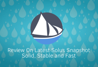 Review on Solus 2017.01.01: Solid, Stable and Fast 1 Solus
