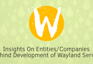 Insights On Companies Behind Wayland 1 who develops wayland