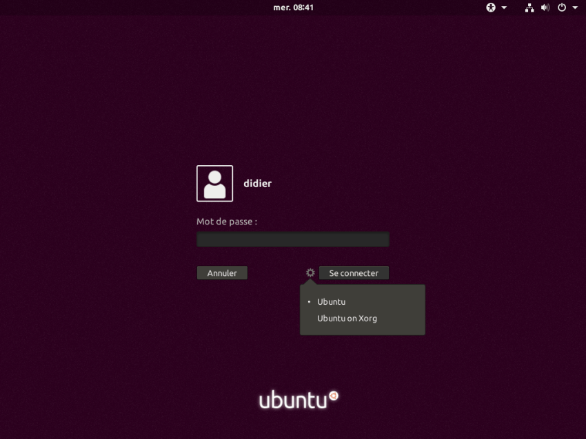GDM on Ubuntu 17.10 (image via didrocks.fr)