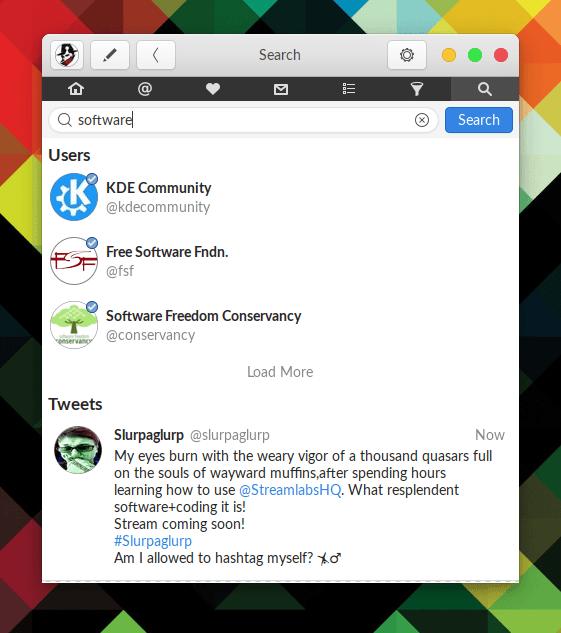Hands on Corebird: A GTK+ Twitter Client 43