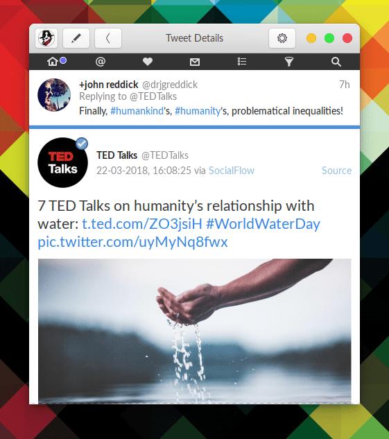 Hands on Corebird: A GTK+ Twitter Client 49