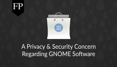 A Privacy & Security Concern Regarding GNOME Software 11
