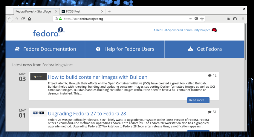 Fedora 28: Another Release For Power Users