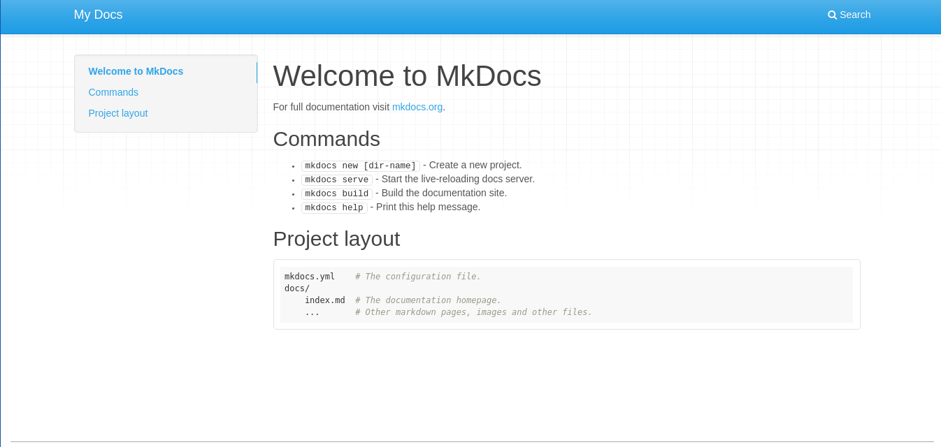 MkDocs Is The Perfect Open Source Documentation Software FOSS Post - Software documentation