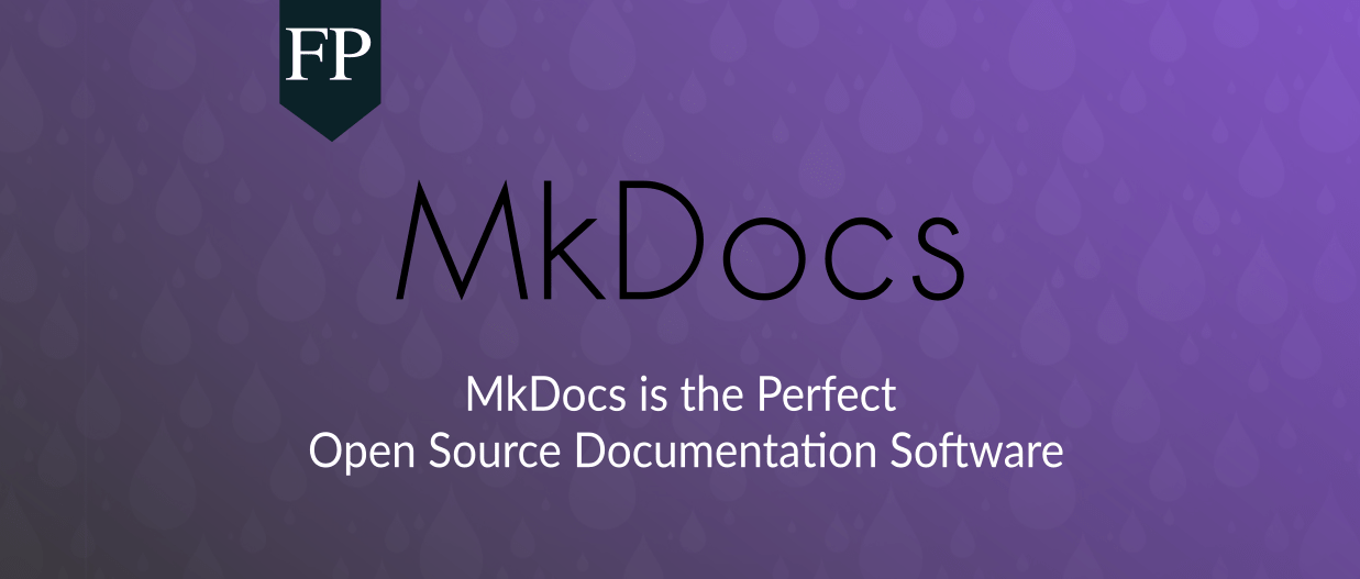MkDocs Is The Perfect Open Source Documentation Software