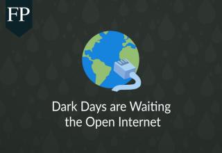 Dark Days are Waiting the Open Internet 137