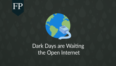 Dark Days are Waiting the Open Internet 163