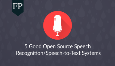 5 Good Open Source Speech Recognition/Speech-to-Text Systems 9