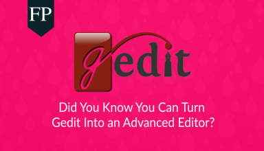 Turn Gedit Into an Advanced Editor 13 gedit