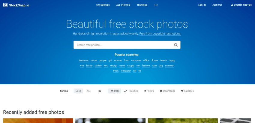 5 Places to get Open Source/Royalty Free Images 13
