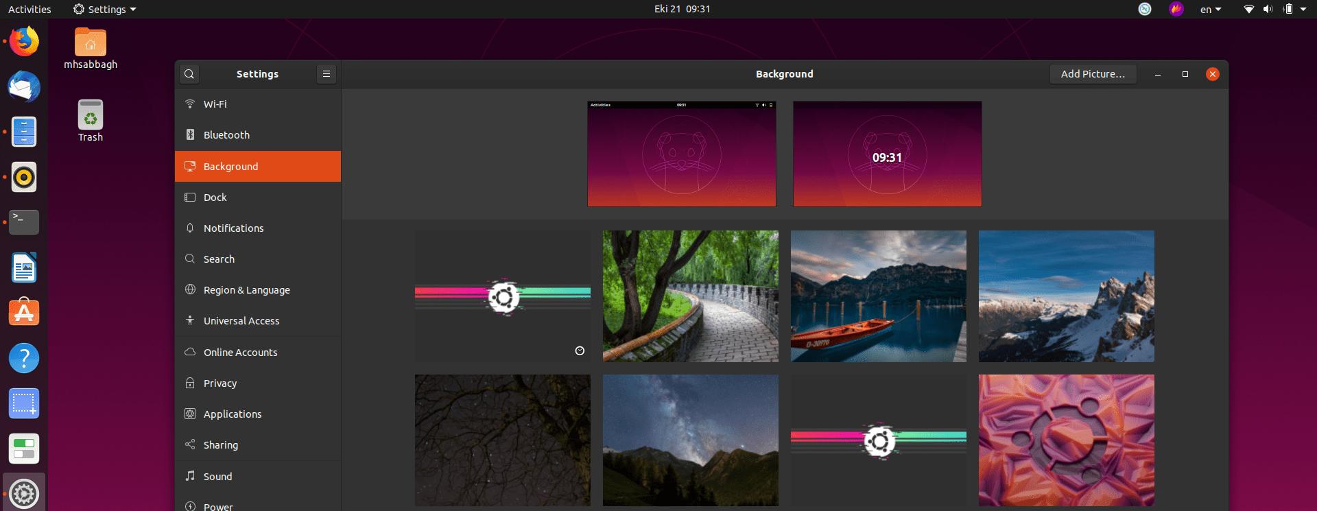 85 Ubuntu 19.10