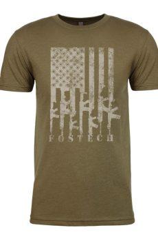 Fostech Firearm Flag T-Shirt