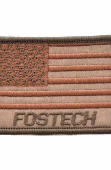 Fostech Embroidered Flag Patch