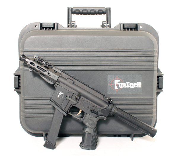 Tech 15 Pistol with Gun Case