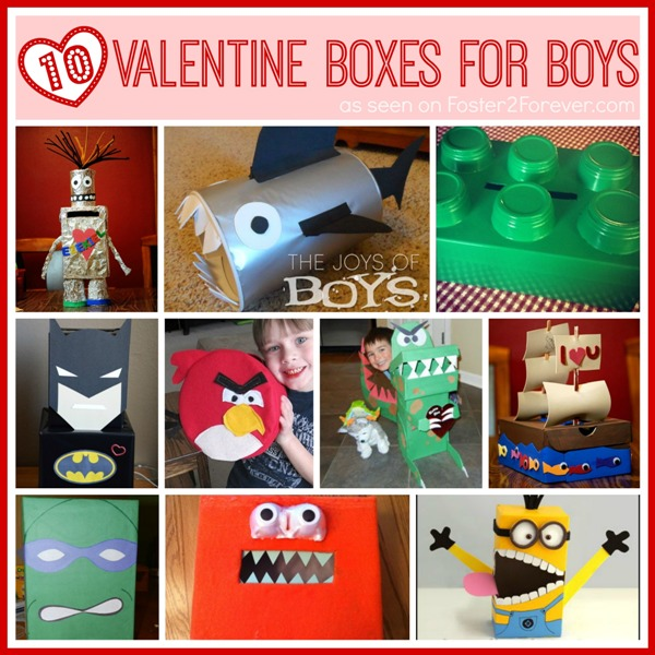 10 Great Valentine Box Ideas For Boys