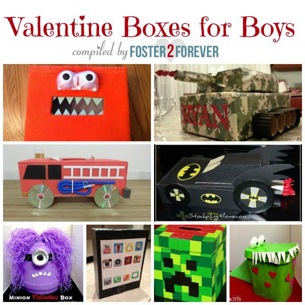 Fabulous Valentine Box Ideas For Boys