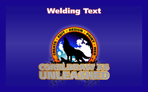 Welding Script Text in CorelDRAW