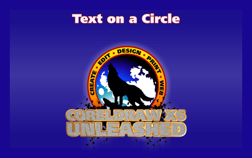 Adding Text on a Circle in CorelDRAW
