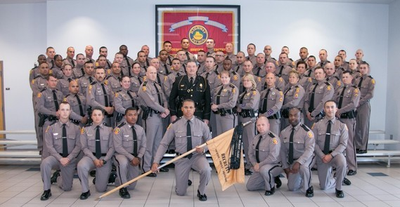 141st Basic Recruit Class graduates from FHP Training