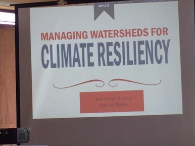 Focal Topic: Climate Resiliency