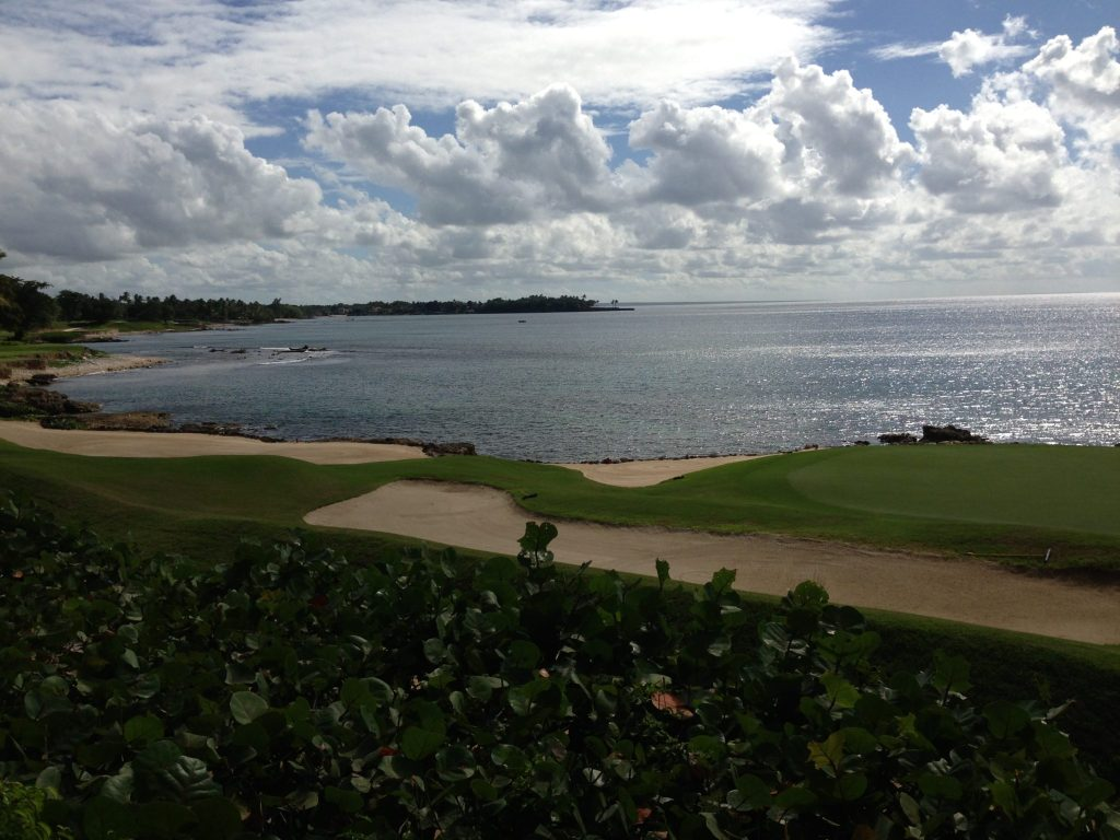 View from a villa in Casa de Campo, Dominican Republic
