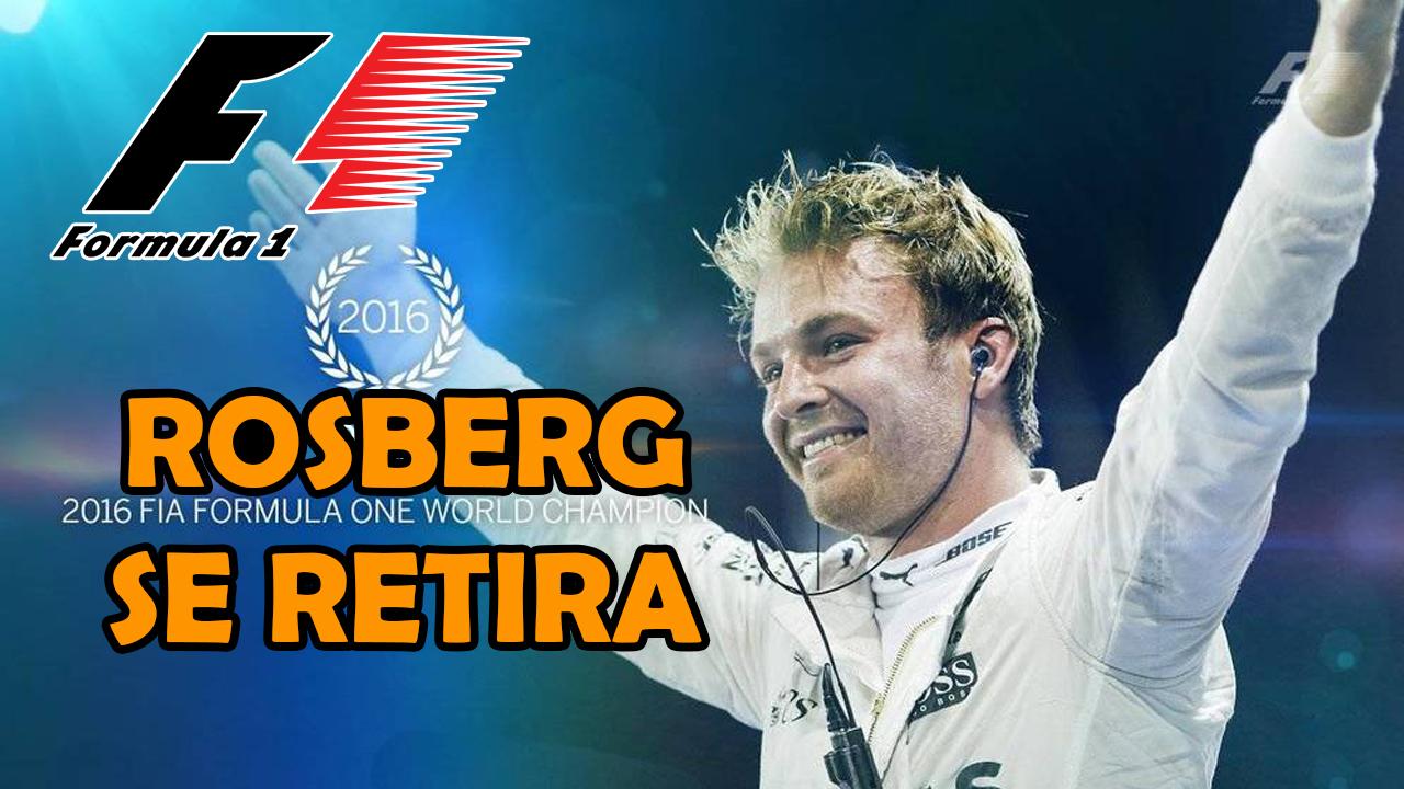 Nico Rosberg abandona la F1. ¿Quién será su sustituto?