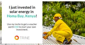 solenergi i homa bay, kenya, afrika