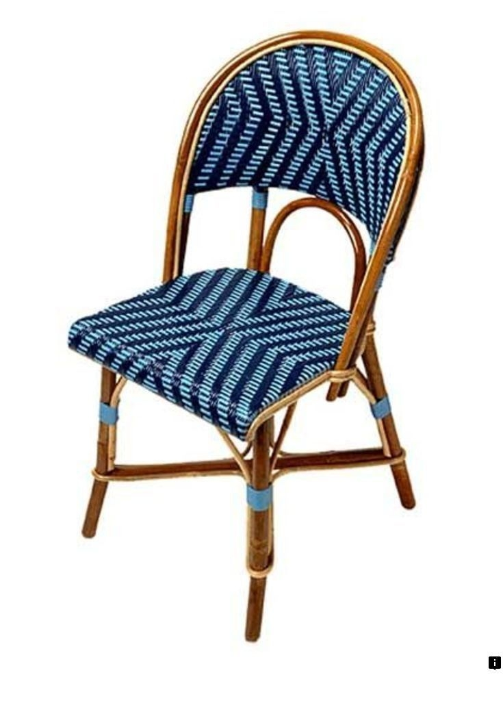 French Bistro Chairs   Foter Enchanting with its bistro design and fabulous upholstery  this lovely chair  will bring a smooth climate into the space  It catches the attention with  its