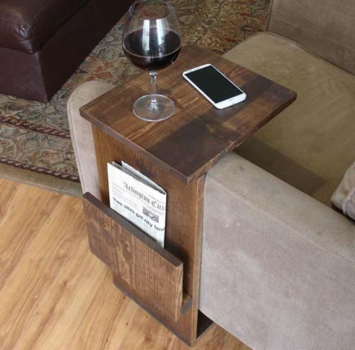 diy couch table tray