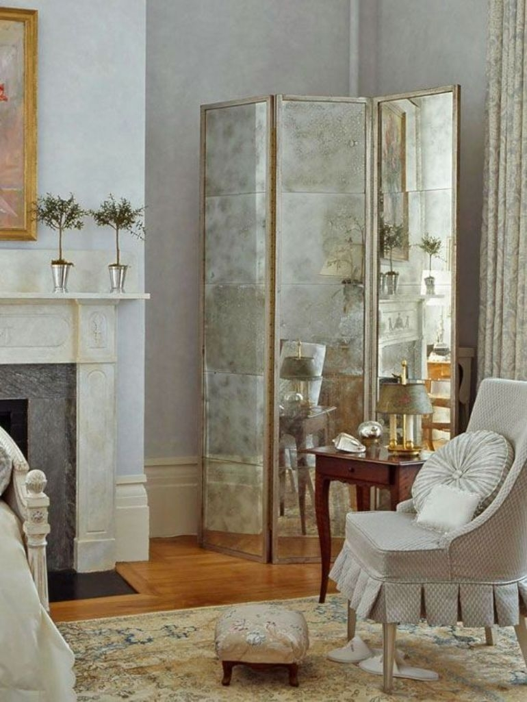 Mirrored Room Divider Screen Ideas On Foter