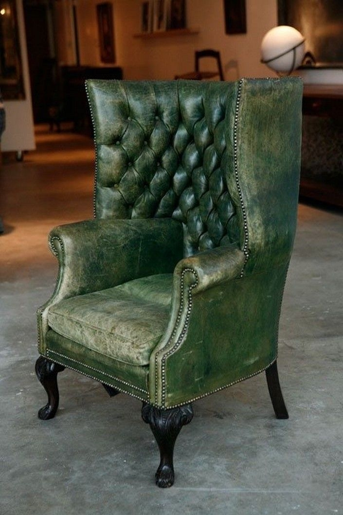 Green Wingback Chair Ideas On Foter