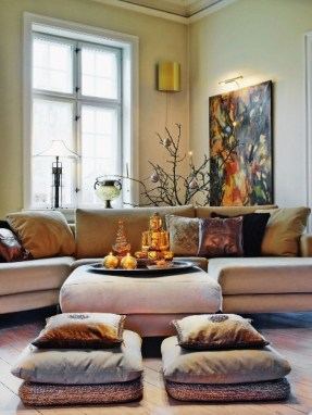 Asian Chic Living Room