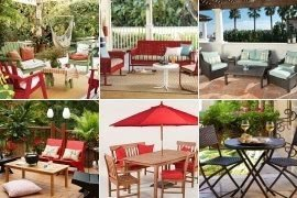 red patio furniture sets ideas on foter