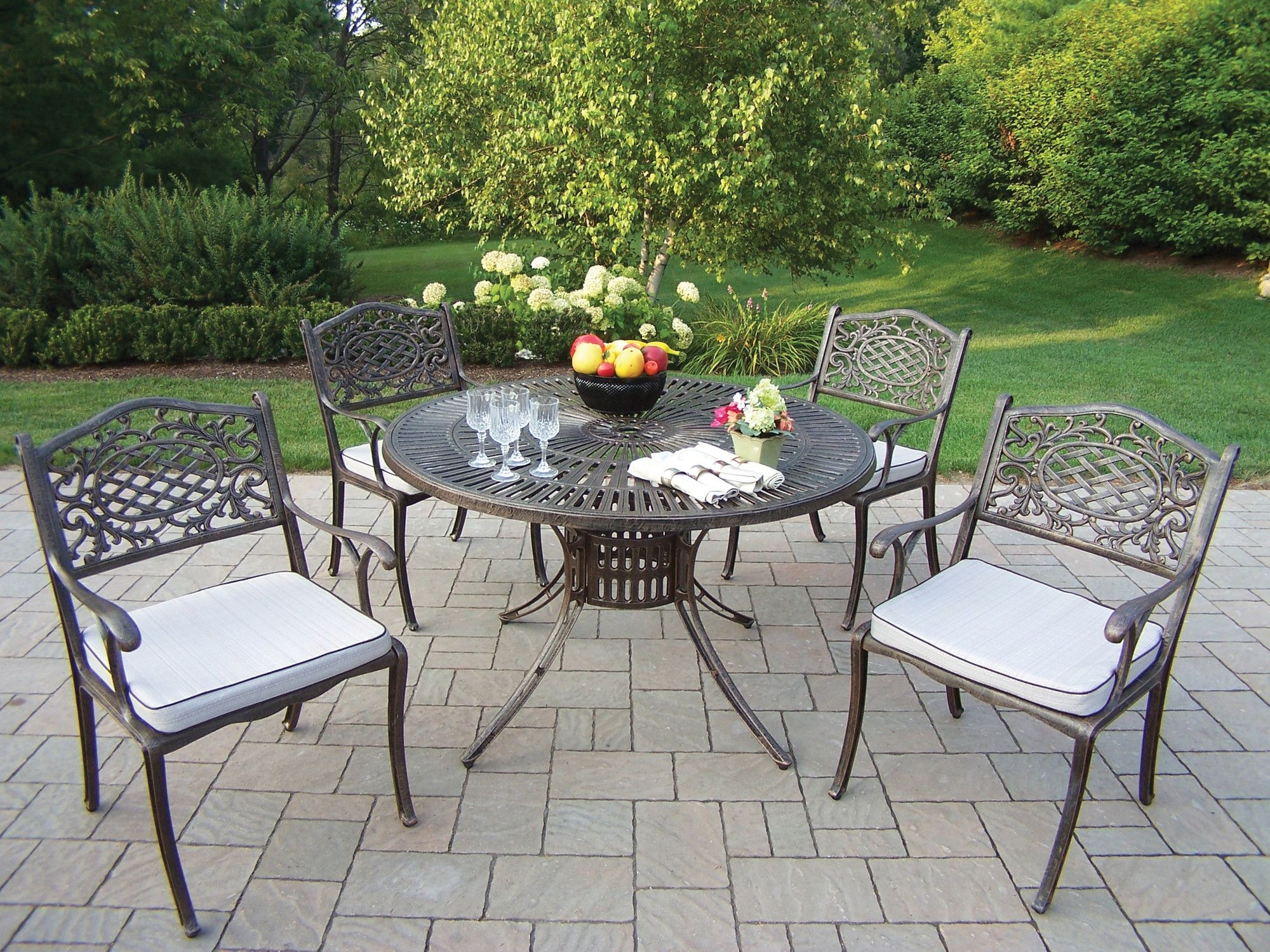 https foter com stainless steel patio furniture sets