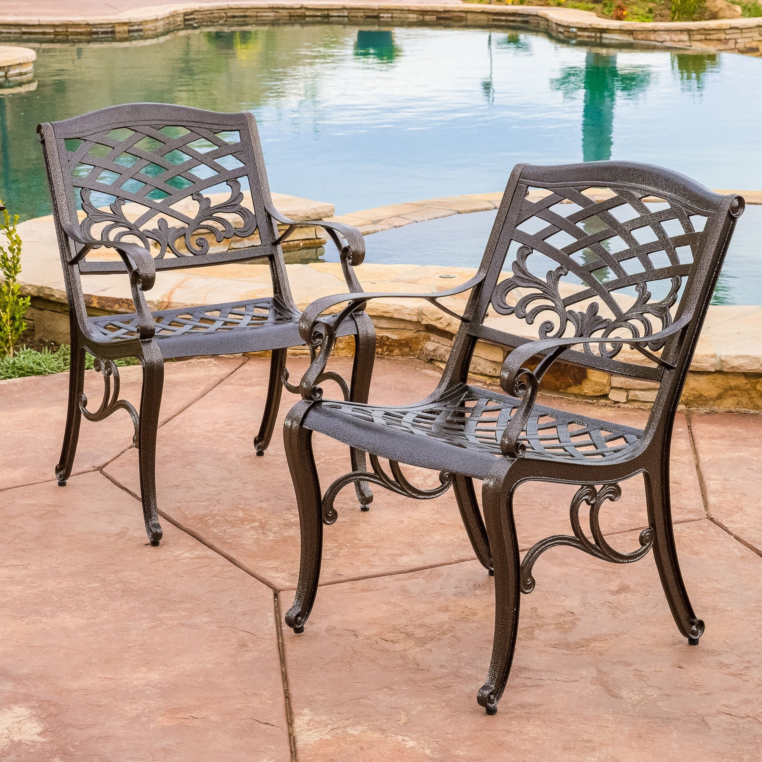 patio furniture without cushions