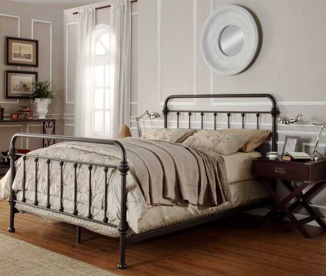 This Black Victorian Bed Frame Comes With A Matching Headboard And Footboard And Would Make For A Splendid Addition To Any Master Suite Or Even The Guest