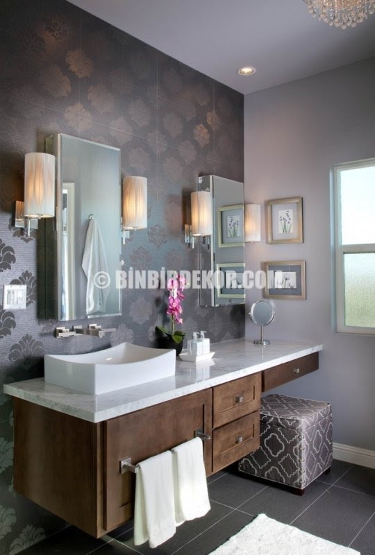 contemporary makeup vanity table
