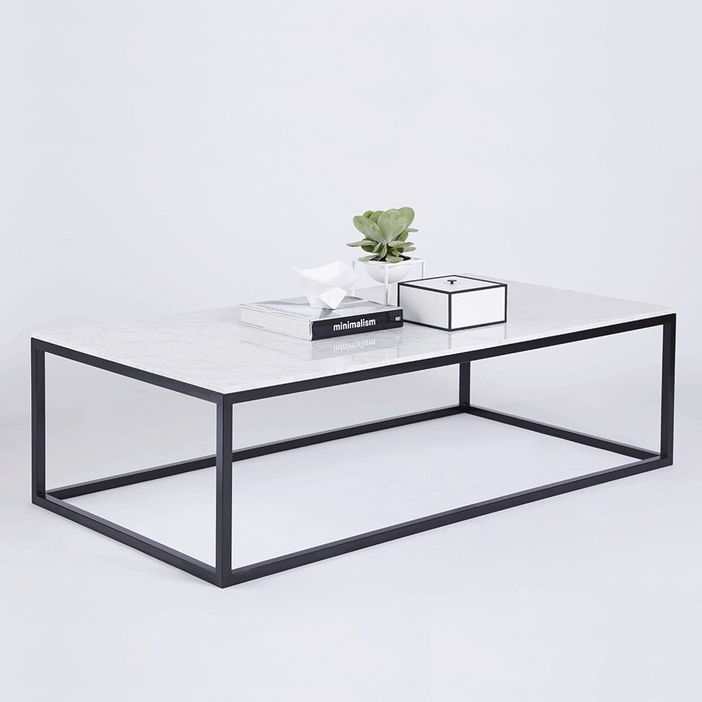 white marble top coffee table ideas
