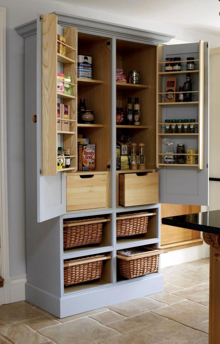 Oak Pantry Storage Cabinet Ideas On Foter