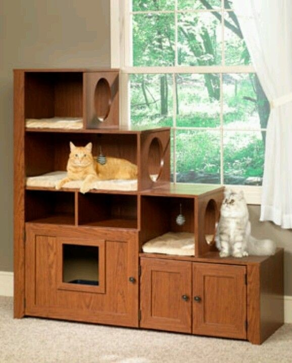 Best Furniture Cat Litter Box Cabinet For 2020 Ideas On